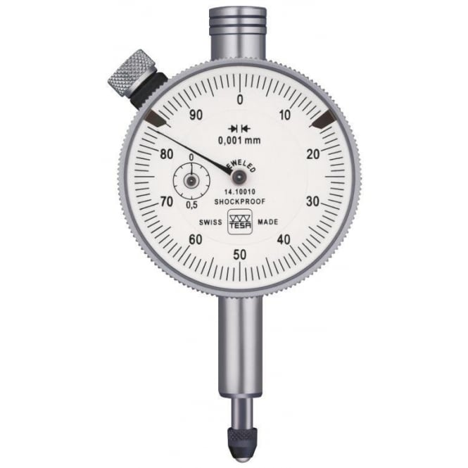 Tesa 01410120 - Analogue dial gauge YR IP54, Range - 1mm