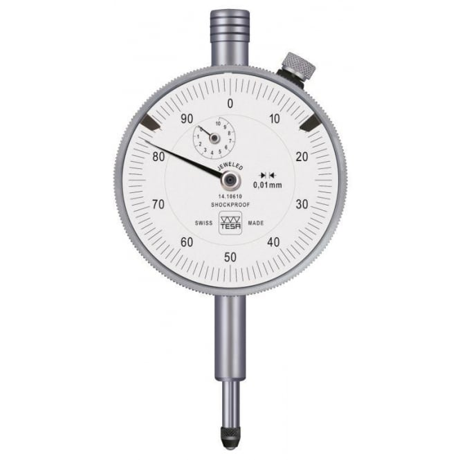 Tesa 01410611 - Analogue dial gauge YR, Range - 10mm