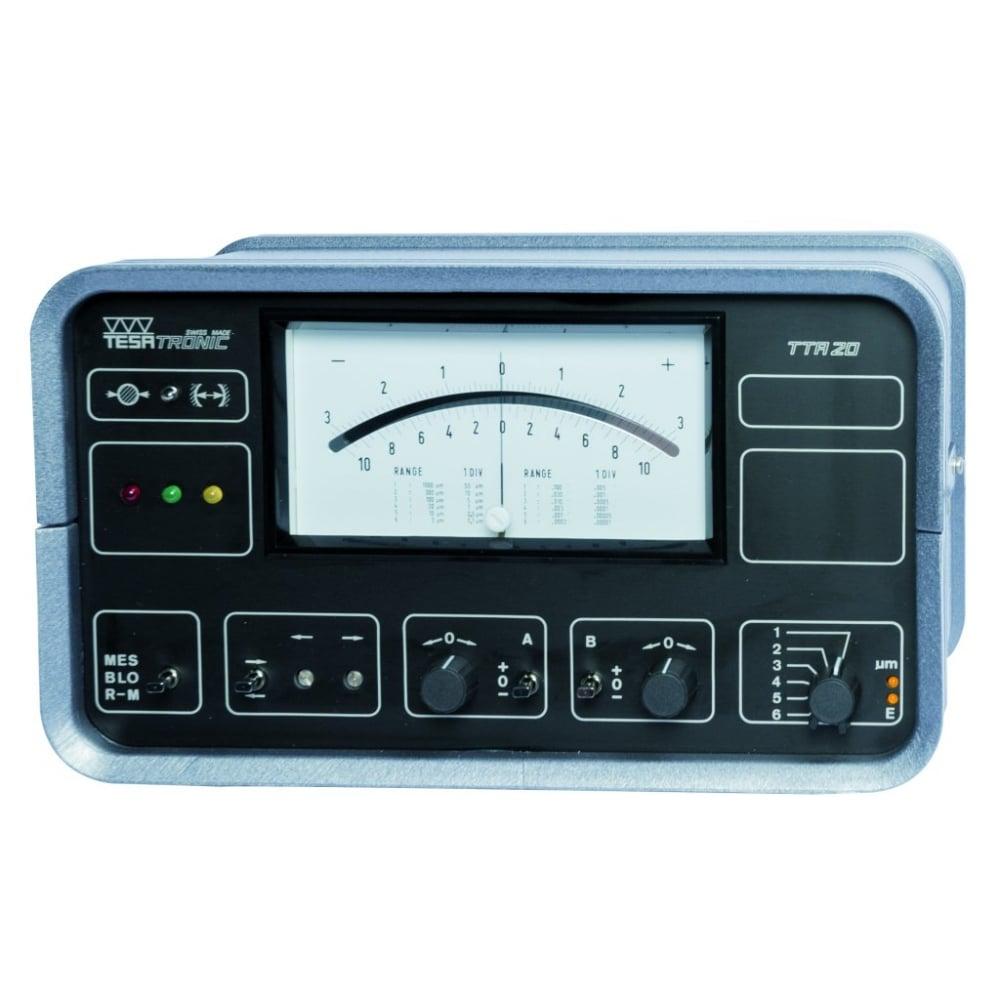tesa 04430003 tesatronic tta20 electronic display unit with analogue rh hroberts di com