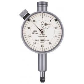 353 - Analogue dial gauge COMPAC 353, Range - 5mm