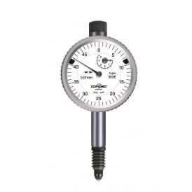 353E - Analogue dial gauge COMPAC 353E IP54, Range - 5mm