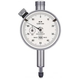 367E - Analogue dial gauge COMPAC 367E IP54, Range - 1mm