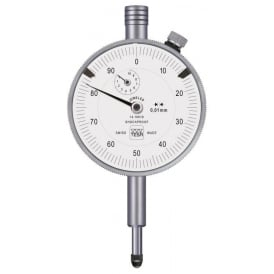 512K - Analogue dial gauge COMPAC 512K, Range - 10mm