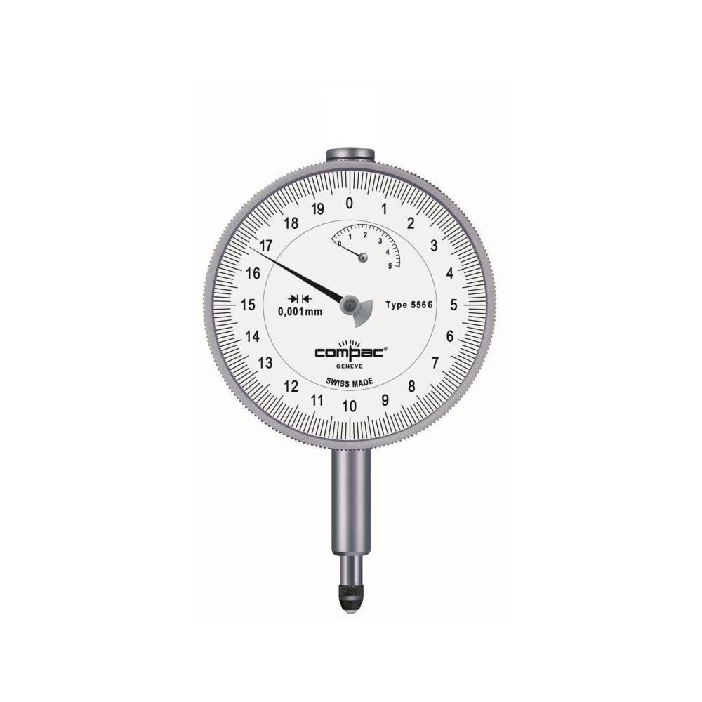 Compac 556g Analogue Dial Gauge Compac 556g Range 5mm