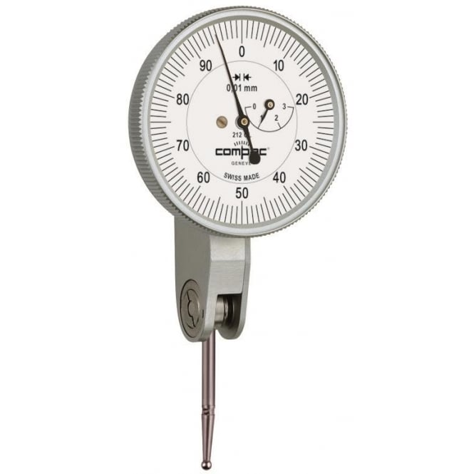 Compac 215G - Analogue lever-type dial test indicator , Range - 0.6mm