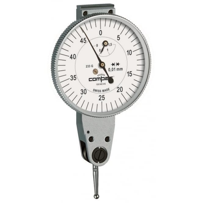 Compac 232L - Analogue lever-type dial test indicator , Range - 3mm