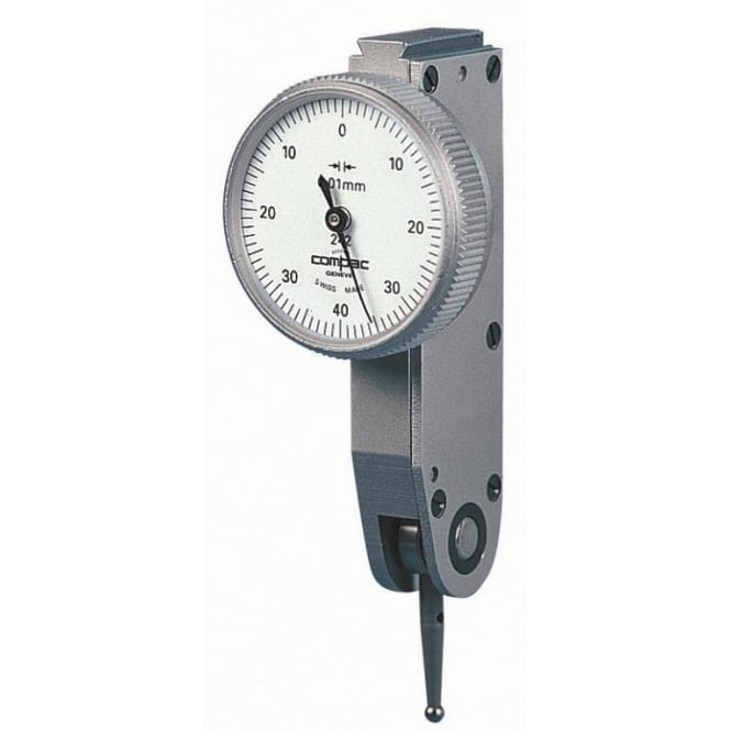 Compac 242G - Analogue lever-type dial test indicator , Range - 0.8mm