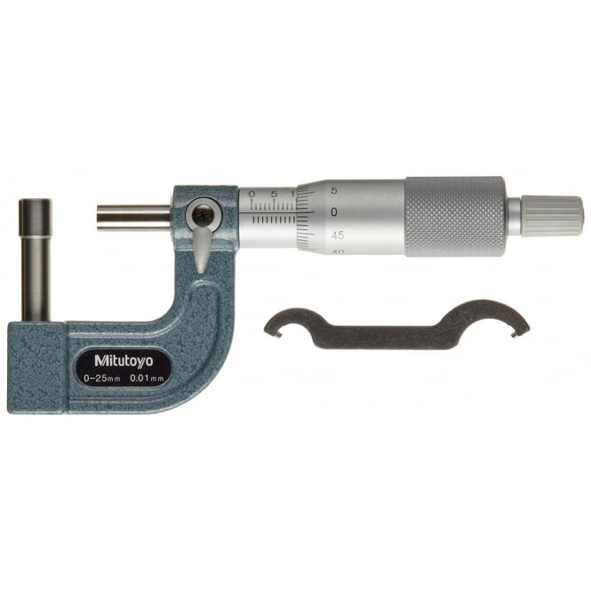 Mitutoyo 115-316 Tube Micrometer 0-25mm, 8.2mm Dia. Cylindrical Tip