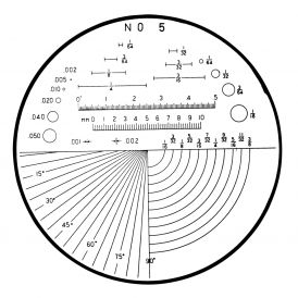 183-106 - Angle, Radius, Length, Diameter Reticle