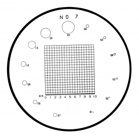 183-108 - Grid, Diameter Reticle (No.7)