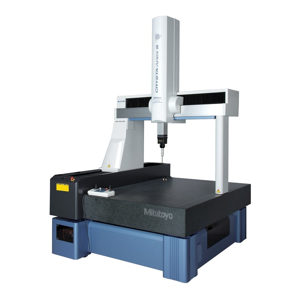 Mitutoyo 191 S9106 Crysta Apex S Coordinate Measuring Machine All Metrology From H Roberts Sons Di Ltd Uk