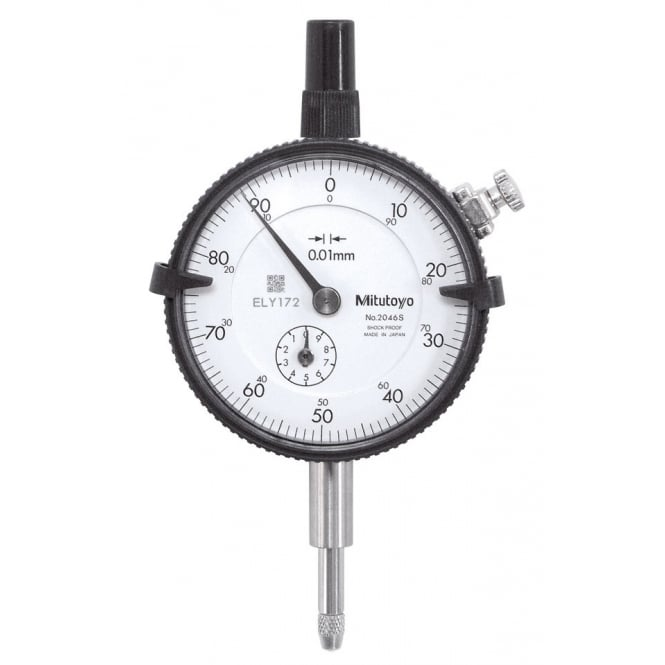 Mitutoyo 2046S-60 Standard Dial Indicator 10mm (1mm)