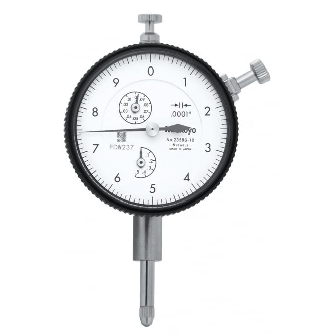 Mitutoyo 2358S-10 High Resolution Standard Dial Indicator .5