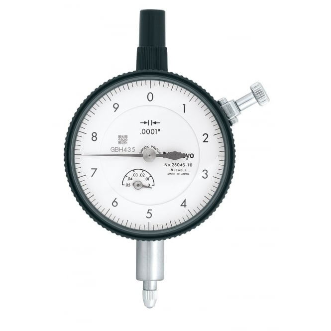 Mitutoyo 2804S-10 High Resolution Standard Dial Indicator .05