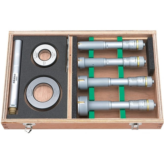 Mitutoyo 368-913 Bore Micrometer Set 20-50mm