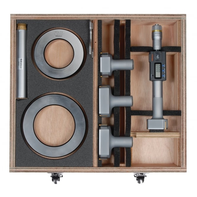 Mitutoyo 468-979 Digimatic Bore Micrometer Set 50-100mm / 2-4
