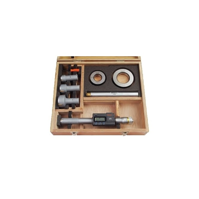 Mitutoyo 468-980 Digimatic Bore Micrometer Set 100-200mm / 4-8