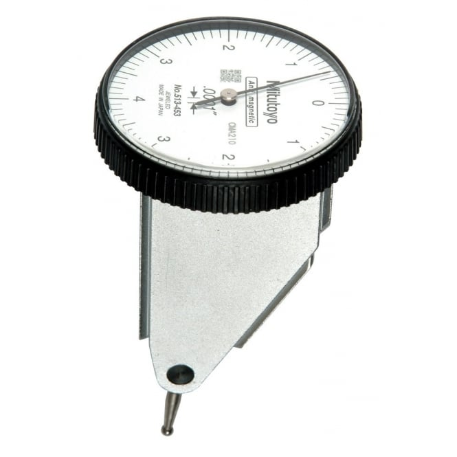 Mitutoyo 513-453T Vertical Style High Resolution Lever Indicator .008