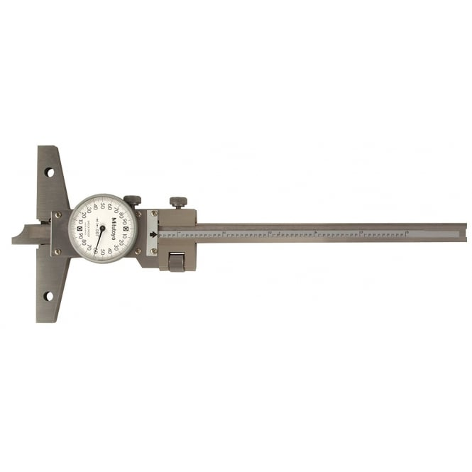 Mitutoyo 527-311-50 Dial Depth Gauge 0-6