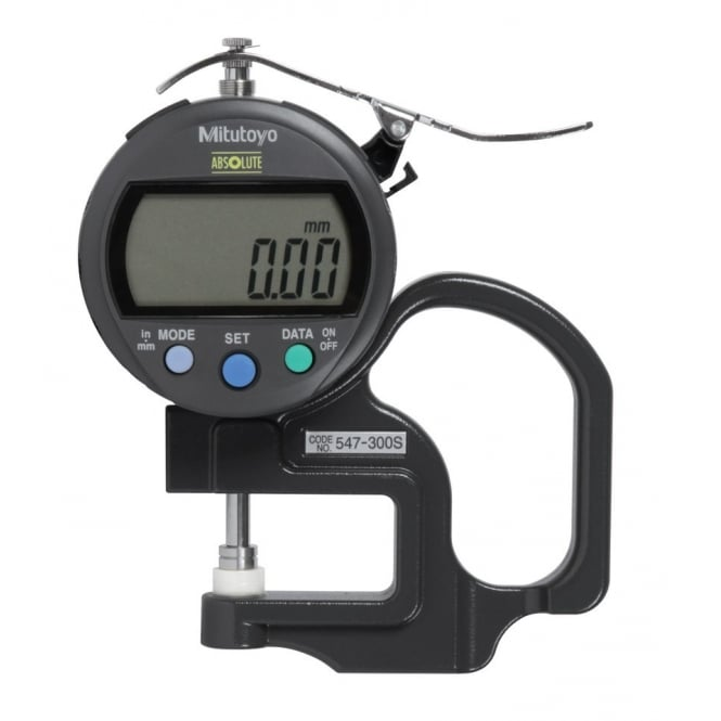 Mitutoyo 547-300S ABSOLUTE Digimatic Thickness Gauge 0-10mm / 0-.4