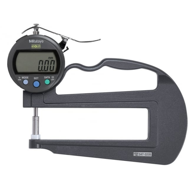 Mitutoyo 547-320S ABSOLUTE Digimatic Thickness Gauge 0-10mm / 0-.4