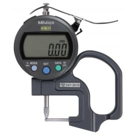 547-361S ABSOLUTE Digimatic Thickness Gauge 0-10mm / 0-.4