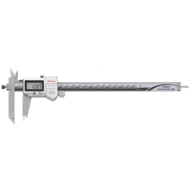 Mitutoyo 573-702 ABSOLUTE Digimatic Offset Caliper 0-200mm / 0-8