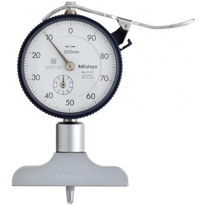 Mitutoyo 7211 Dial Type Depth Gauge 0-200mm
