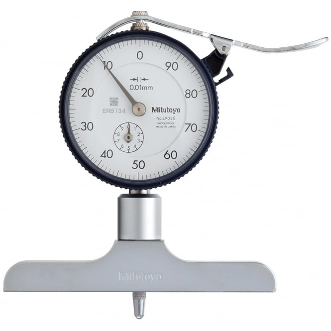 Mitutoyo 7212 Dial Type Depth Gauge 0-200mm