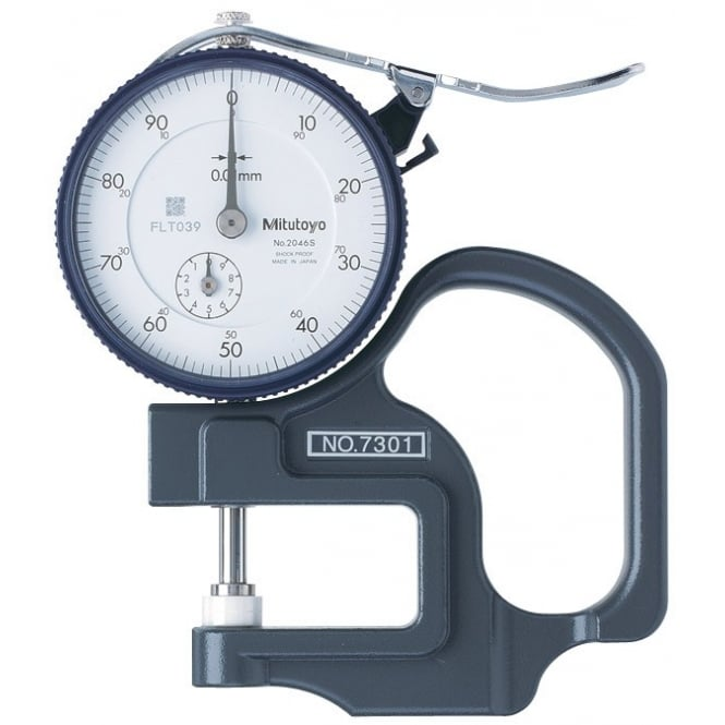 Mitutoyo 7301 Dial Thickness Gauge 0-10mm