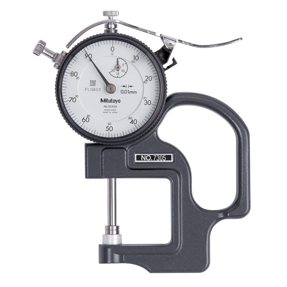 "Mitutoyo 0-.4/"" Dial Thickness Gage"