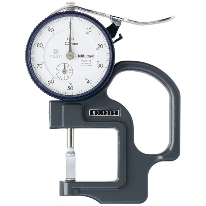 Mitutoyo 7315 Dial Thickness Gauge 0-10mm