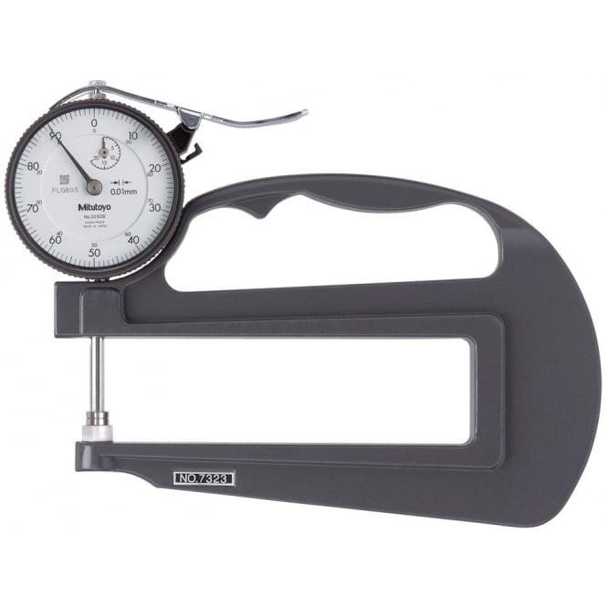 Mitutoyo 7323 Dial Thickness Gauge 0-20mm