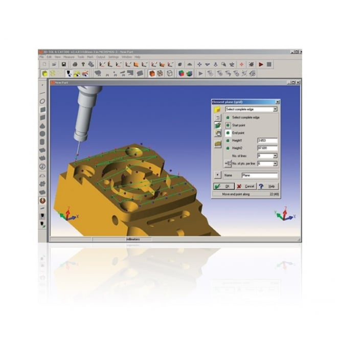 Mitutoyo CAT1000P - CAT-1000P - CAD to Inspection Software