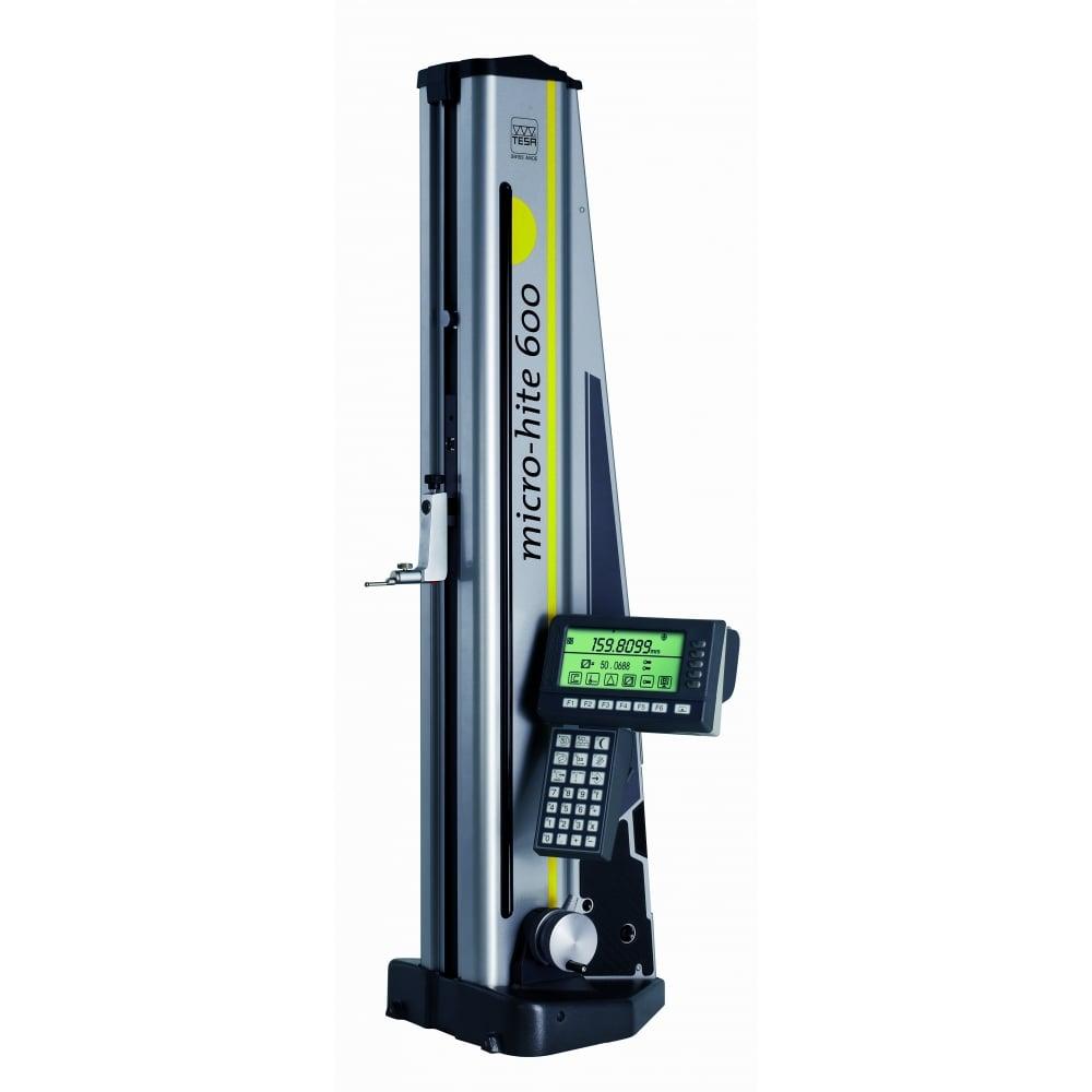 tesa 00730034 height gauge micro hite 600 height gauges from h rh hroberts di com Tesa Micro-Hite 3D Brown and Sharpe MICRO-HITE